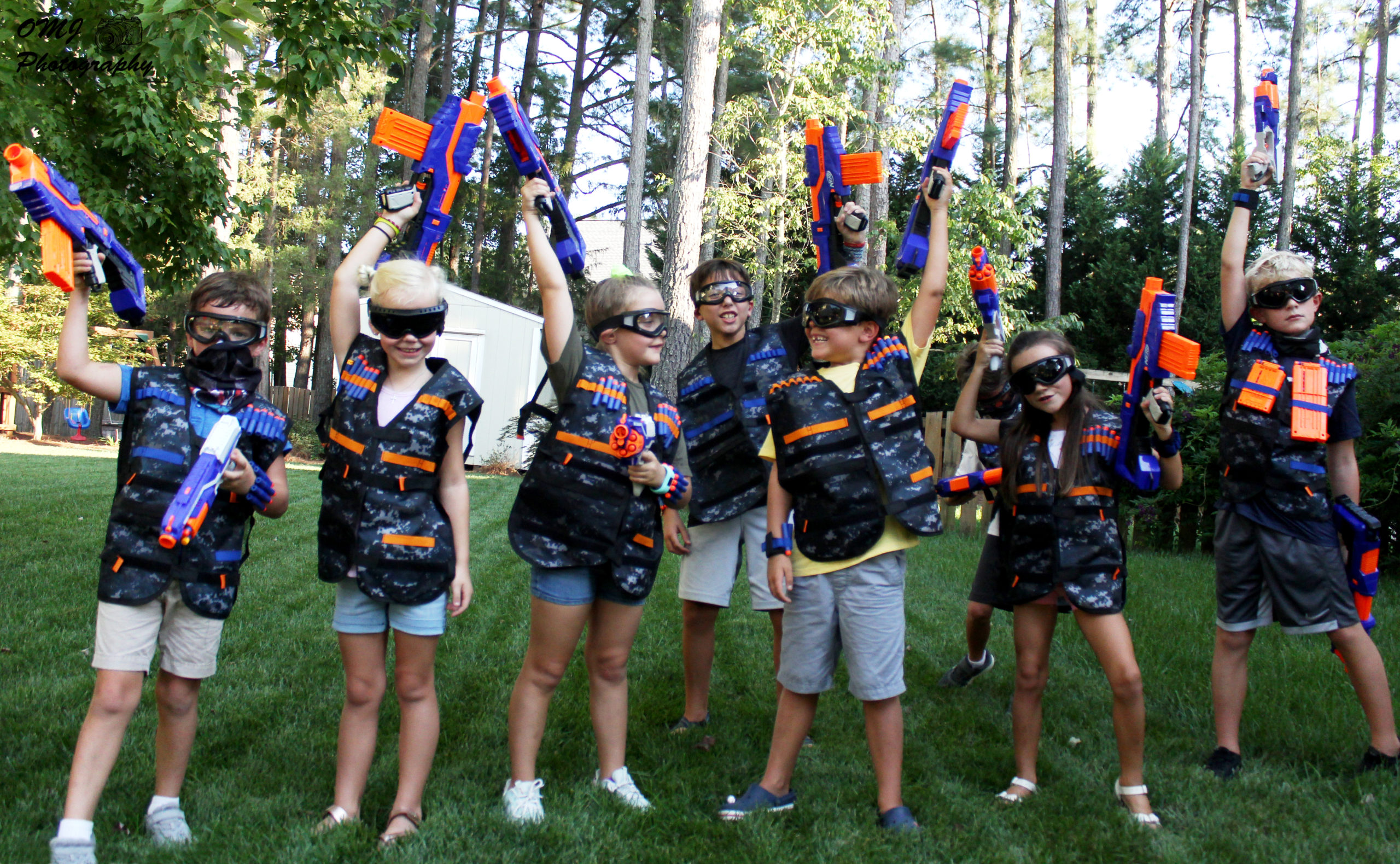 NERF Rental Houston Header